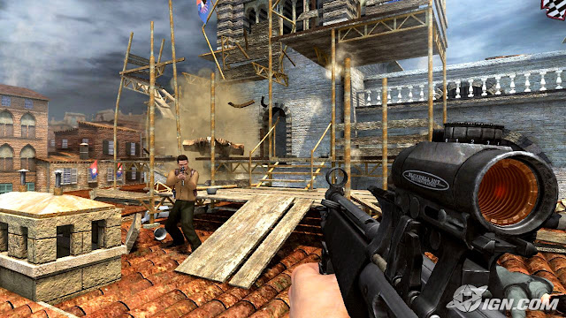 screen shot of 007 game