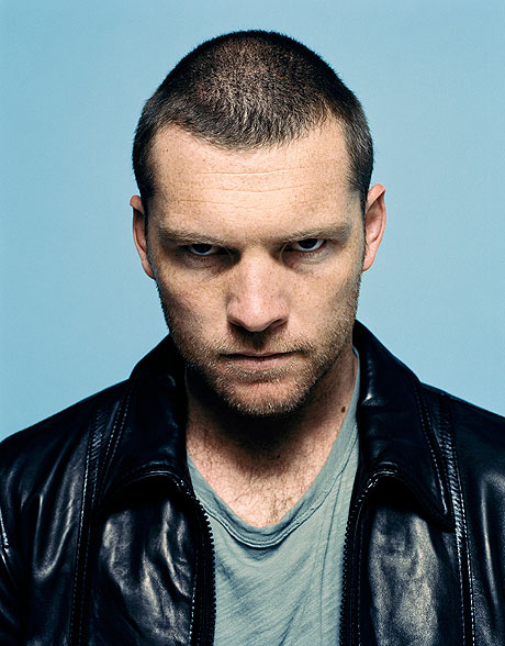 Sam Worthington looks menacing