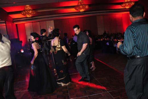 gossip9 + Duminda dancing at soma ediringhe party photo