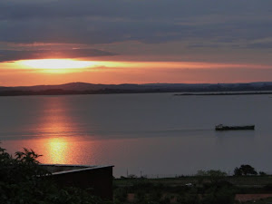 O por do sol no Guaíba