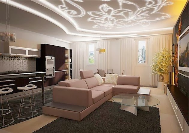 false ceiling designs of gypsum for living room. ceiling lighting