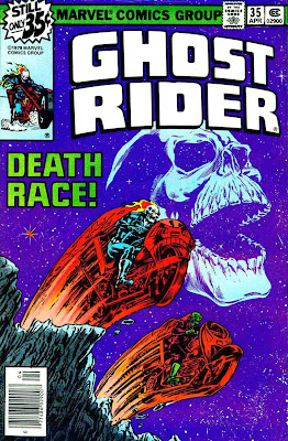 Ghost Rider v3 #35 marvel comic book cover art