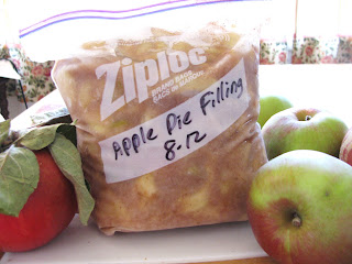 Freezing Apple Pie Filling