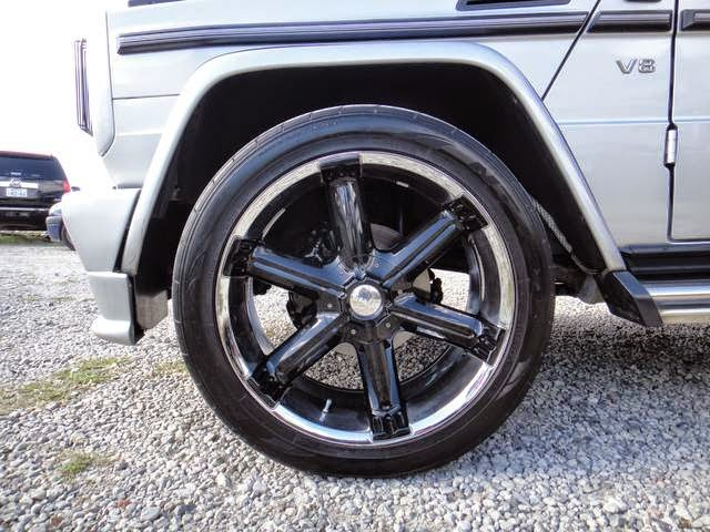 mercedes g500 wheels