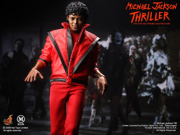 Onesixthscalepictures hot toys thriller micheal jackson for Jackson toys