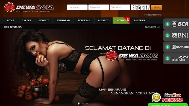 Pusat taruhan Judi Poker Online Resmi Indonesia