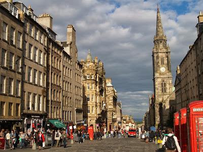 Royal Mile, la calle principal de Edimburgo