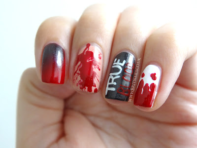 True Blood nail art