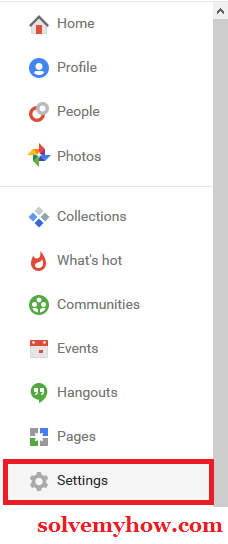 Hide Your G+ Community Post From Your Google Plus Profile