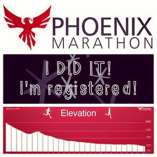 Registered for the Phoenix Marathon
