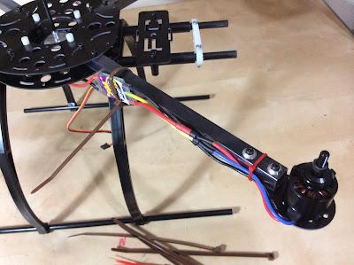 soporte motor quadcopter