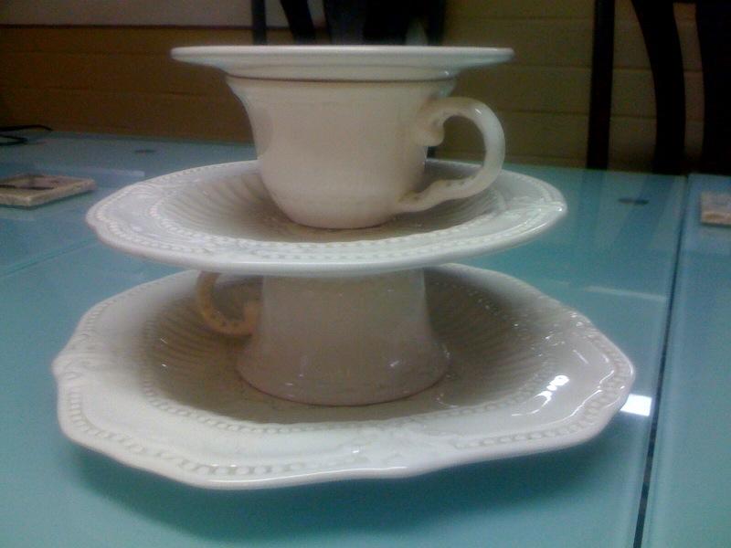 DIY: Designs: DIY 3 tier tea cup!