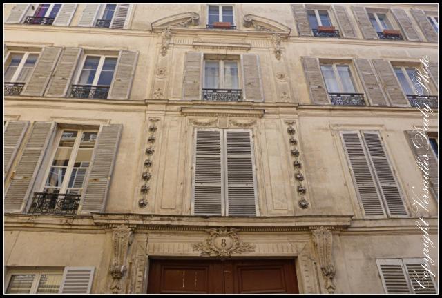 Ornate façade Versailles