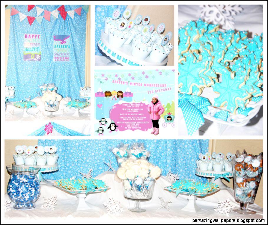 Pretty in Prints »  » Winter Wonderland Birthday