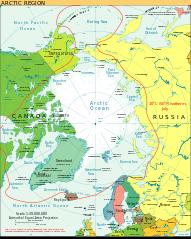 Gambar Peta Dunia Lengkap - Arktik