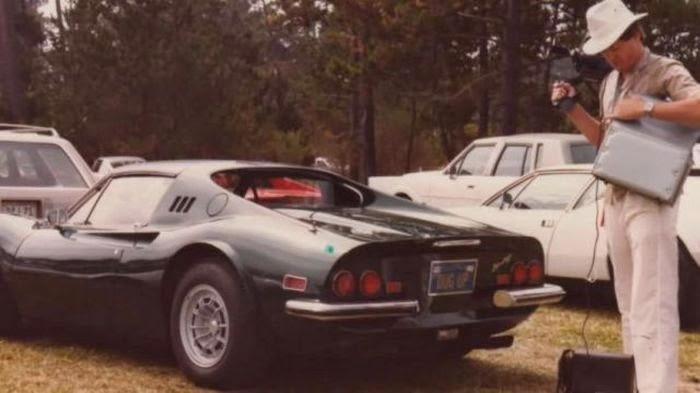 Buried Dino 246 Ferrari Found