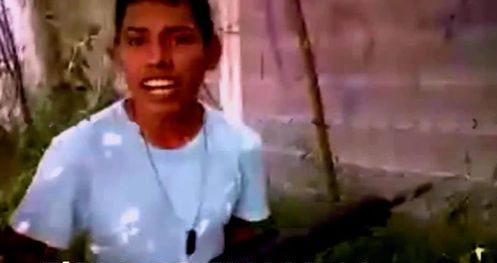 video ninos sicarios cartel golfo mostrando cara poderosas armas
