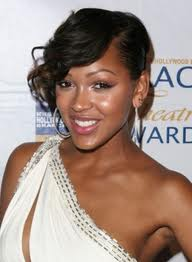 ... Hairstyles and Information: Meagan Good- Short sew in weave hairstyle