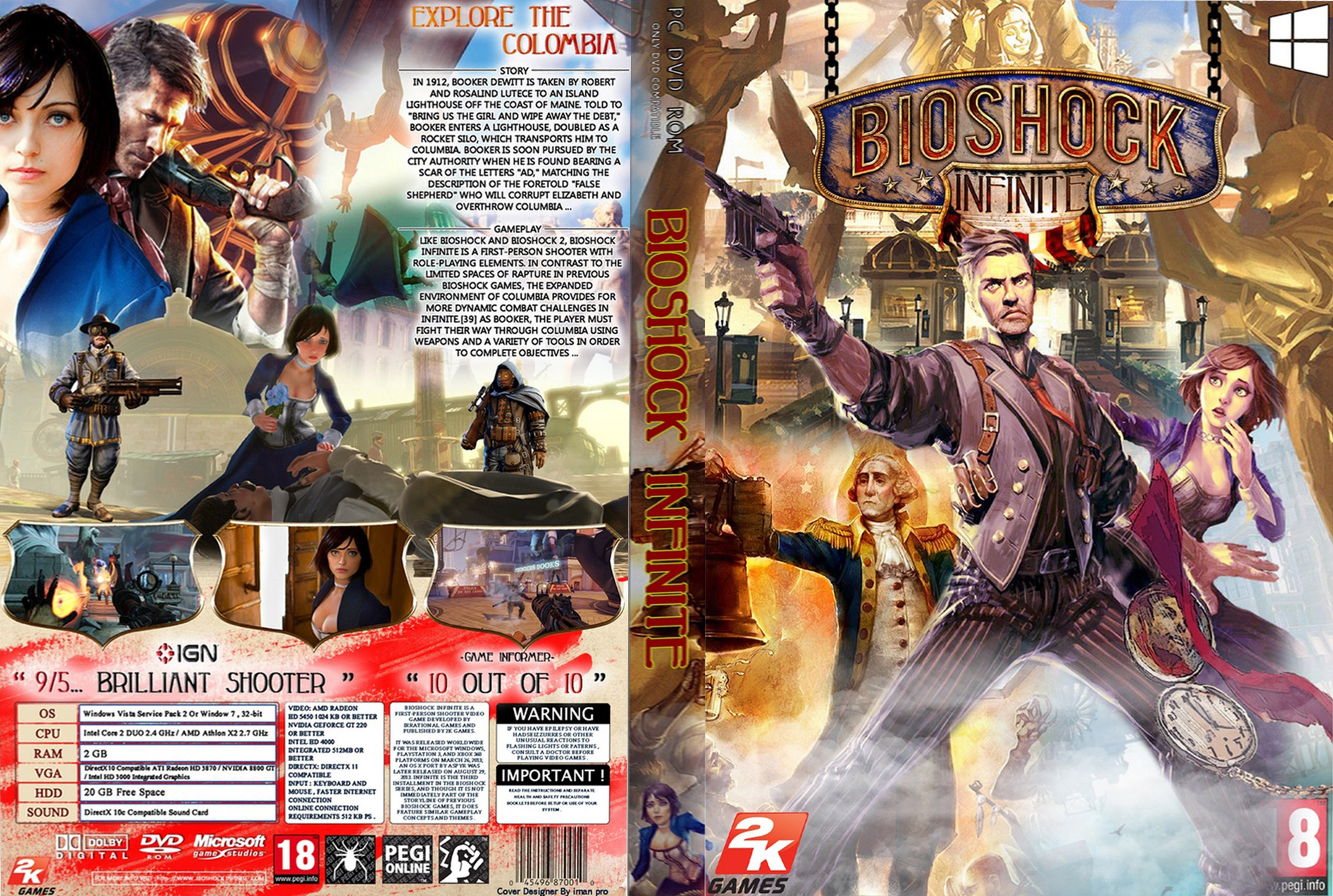 Capa Bioshock Infinite PC