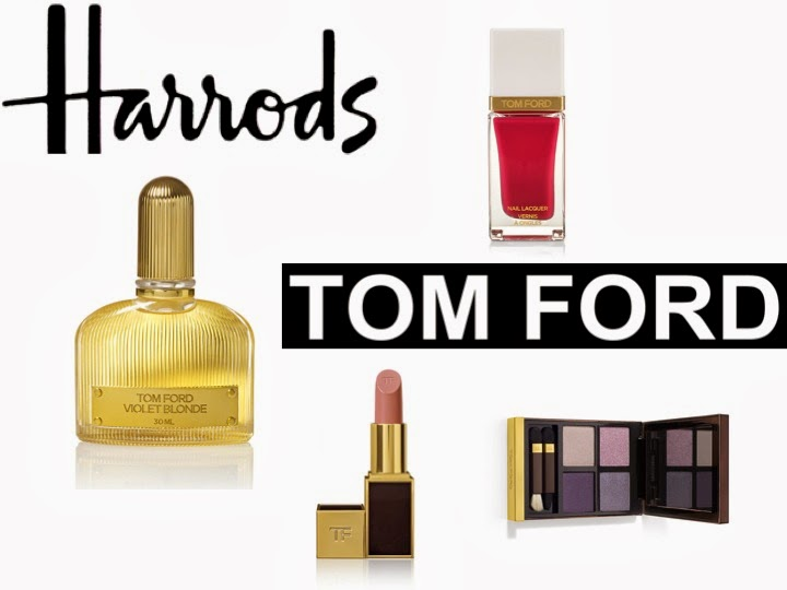 Harrods, Tom Ford, Violet Blonde, Lipstick, eye shadow, nail laquer