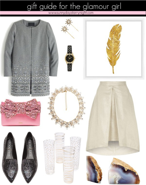 gift guide for the glamour girl