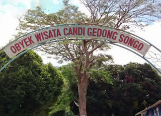 Board of Gedong Songo Temple