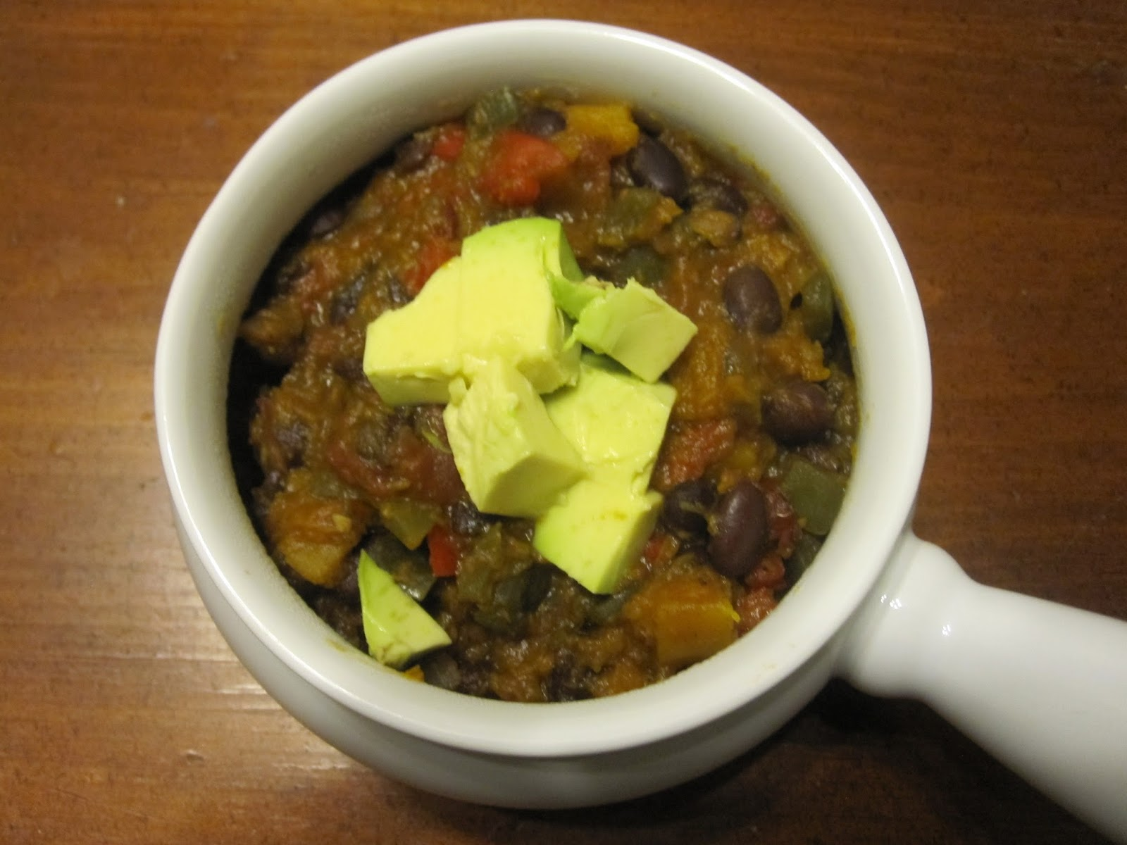 Vegetarian and Cooking!: Butternut Squash Chipotle Chili ...