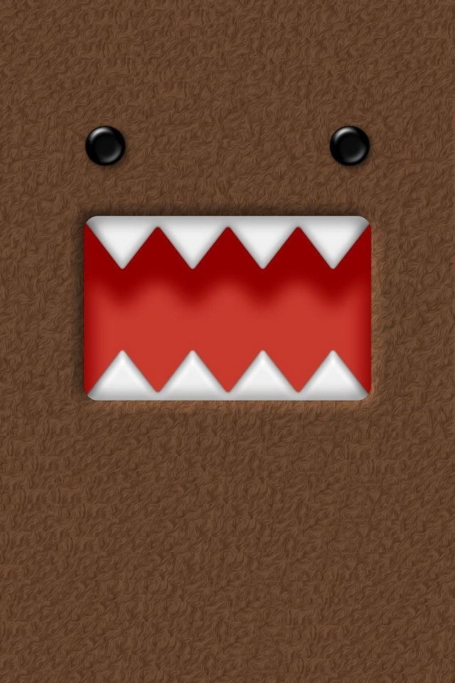 domo kun download iphoneipod touchandroid wallpapers