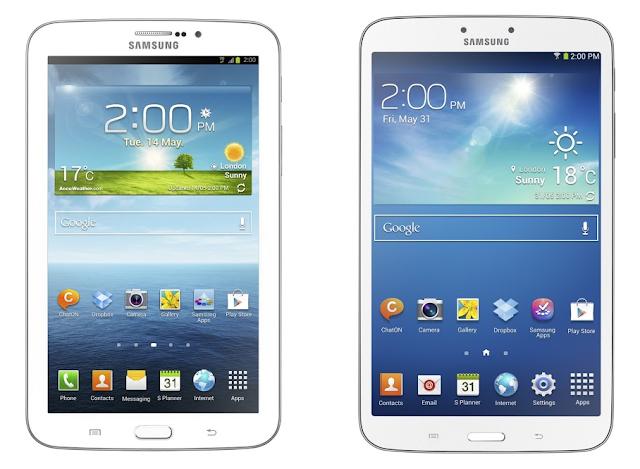 Samsung Galaxy Tab 3 7.0 & Tab 3 8.0