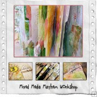 Mixed Media Mayhem con Roben-Marie