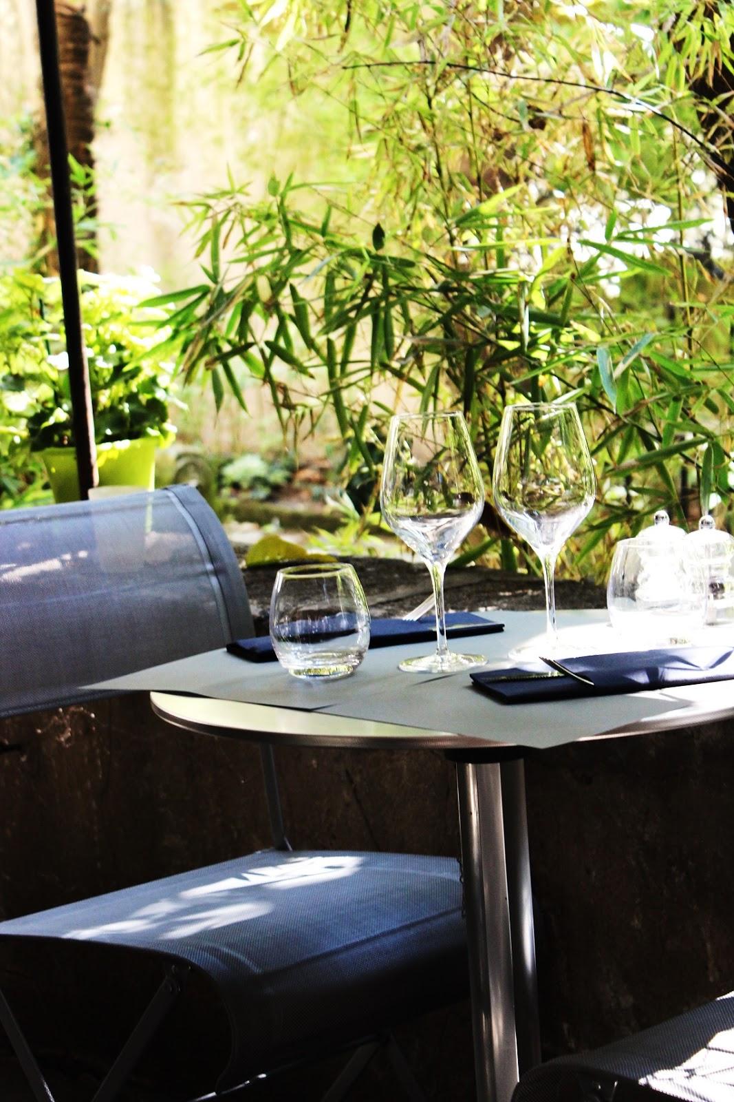 L 39 instant resto jardin mazarin 13 100 aix en provence for Jardin mazarin