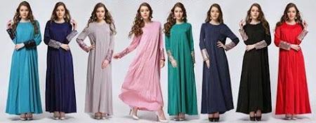 New Arrival Paling Menawan Sequins Jubah Dengan 8 Warna Menawan Semuanya Cantik