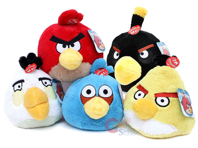 Langsung saja berikut ini adalah Koleksi Boneka Angry Birds Lengkap
