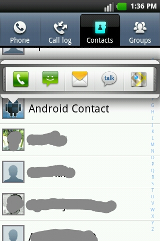Android 2 Know Icon Info