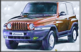Mahindra Hybrid car