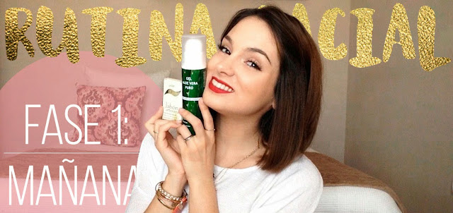 Rutina facial de mañana natural