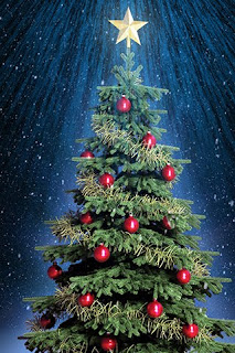 Best High Quality Christmas Tree Mobile Phone Wallpaper for Free