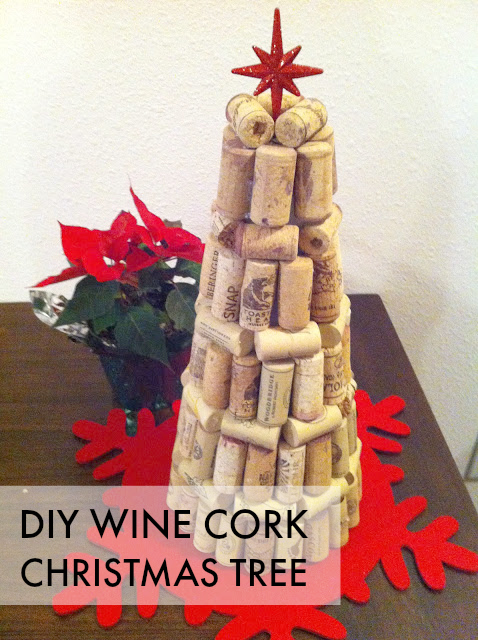 To fro diy wine cork christmas tree for How to make a wine tree