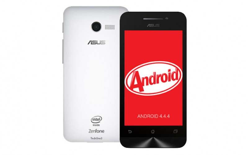 Update Manual Asus Zenfone 4 Kitkat