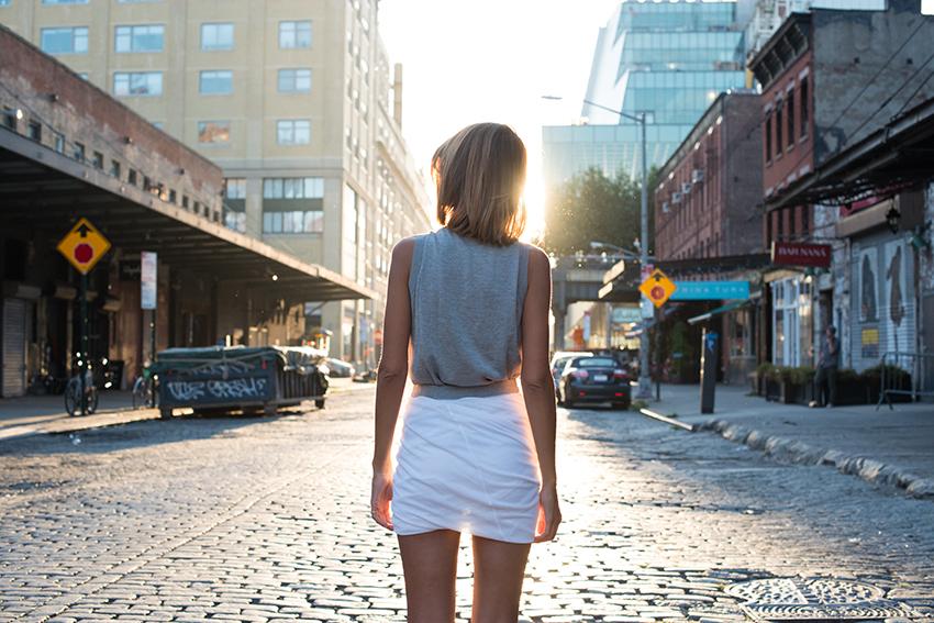 the petticoat alexander wang skirt new york lights