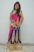 Pavani Gorgeous in half saree-thumbnail-7