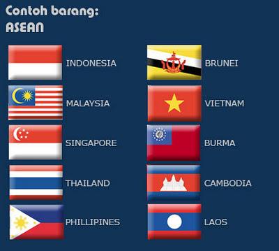 Flag of ASEAN Member Countries pics