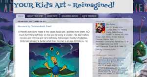 YOUR KID'S ART REIMAGINED BY RAY!