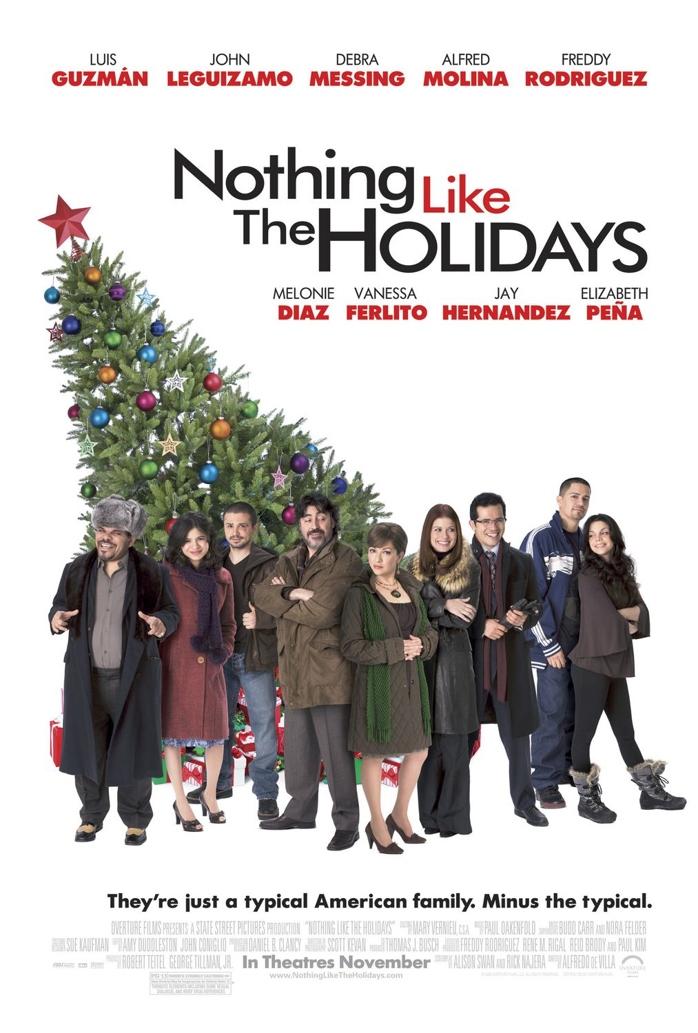 Nothing Like the Holidays (2008) ταινιες online seires xrysoi greek subs