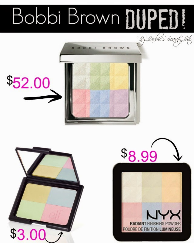 Bobbi Brown Brightening Finishing Powder Duped BY NYX, by Barbie's Beauty Bits