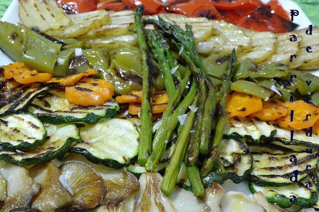 El que no mata engreixa parrillada de verduras for Parrillada verduras
