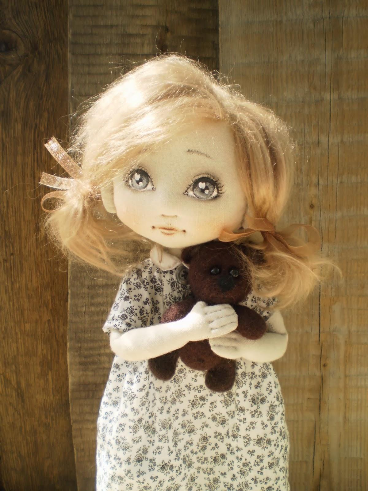 Текстильная кукла история