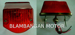 Lampu stop (stop lamp) Yamaha Byson, bentuknya yang imut sangat cocok untuk modifikasi