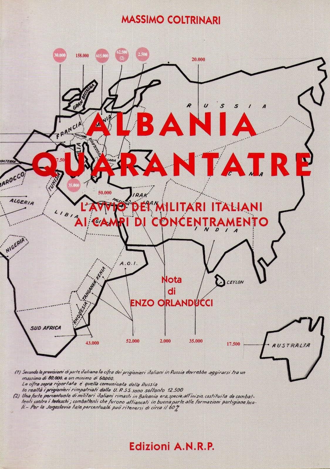 Albania 1943 L'avvio ai campi di concentramento tedeschi