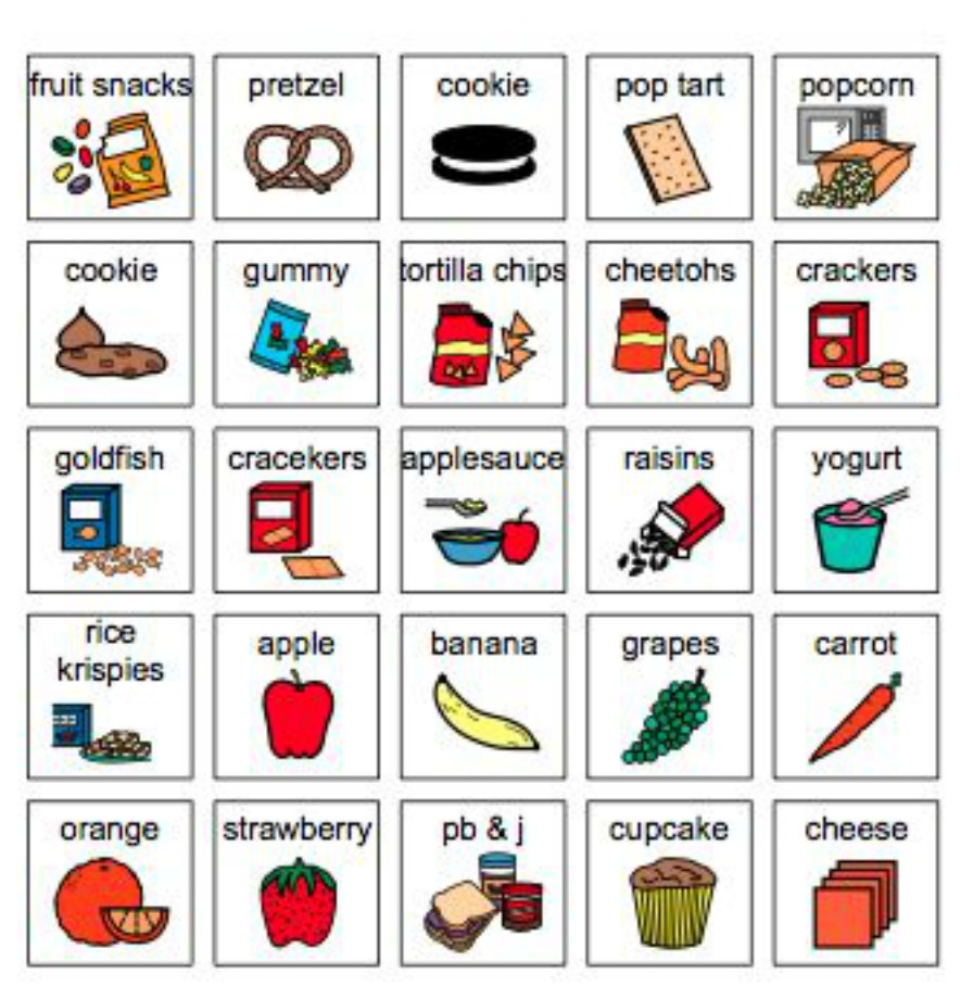 using pecs in the classroom sample pecs pretzel clip art images bretzel clipart